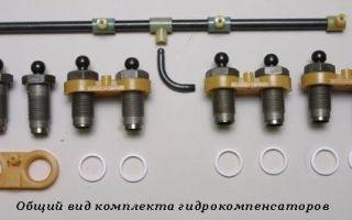 Как установить гидрокомпенсаторы на ваз 2107 своими руками: видеоинструкция