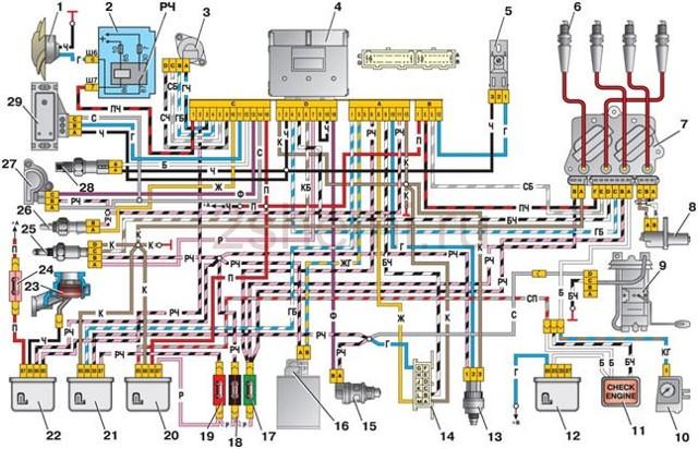 Где находится реле бензонасоса Нива Шевроле: схема, описание, фото