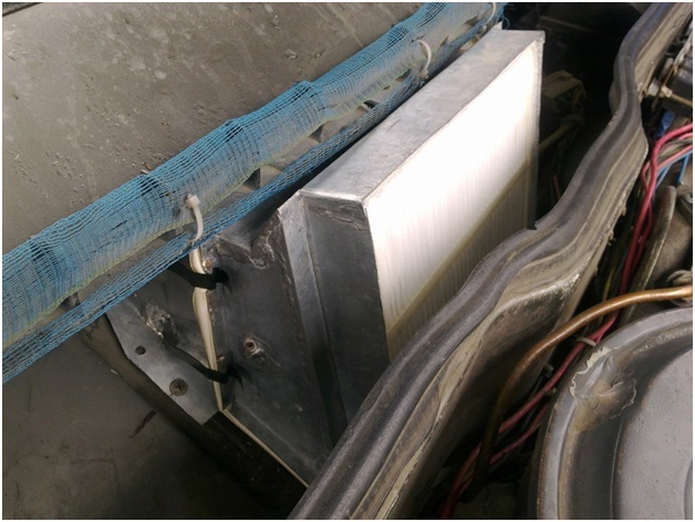 Салонный фильтр ВАЗ 2109: установка, замена своими руками