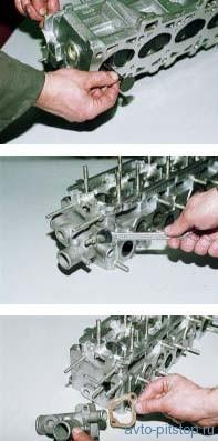 Ремонт ГБЦ ВАЗ 2114 8 клапанов своими руками: инструкция