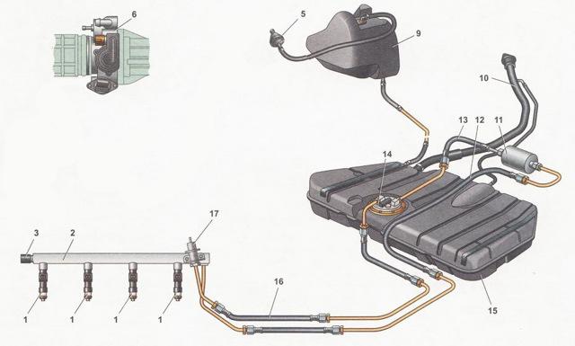 Для чего нужен адсорбер ВАЗ-2114: особенности