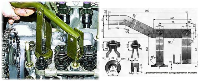 Замена маслосъемных колпачков ВАЗ-2106 – инструкция