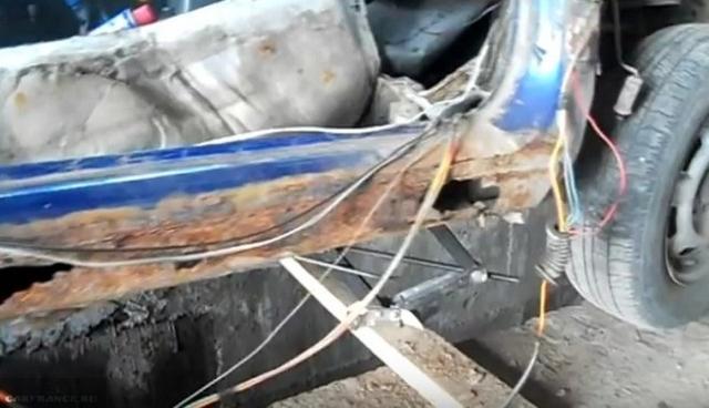 Замена порогов ВАЗ 2110 своими руками: видео
