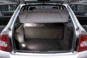 Объем багажника Лады Приора хэтчбек: размер и характеристики