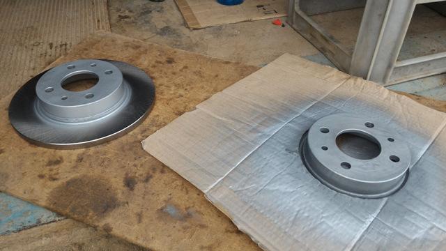 Задние дисковые тормоза на Лада Приора с АБС и без: как поставить самому