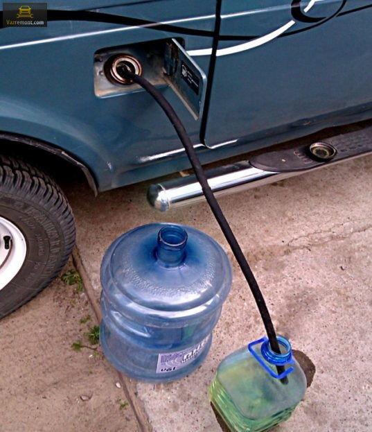 Как слить бензин с ВАЗ 2114 разными способами: видеоинструкция