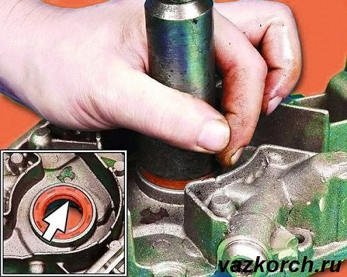 Замена сальника коленвала ВАЗ 2110 8 клапанов: видео инструкция