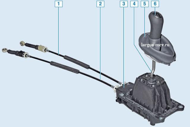 Замена шестерни 5 передачи на Лада Ларгус: видео инструкция