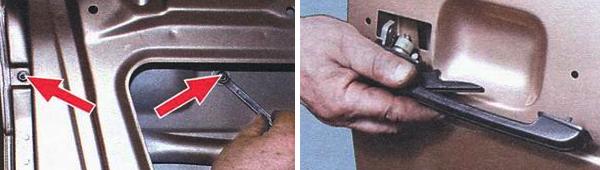 Замена личинки замка двери ВАЗ 2109: алгоритм действий