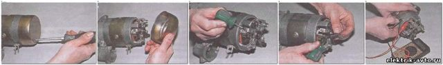 Ремонт стартера ВАЗ-2107 своими руками: пошаговая видеоинструкция