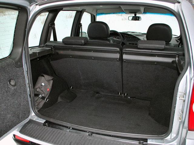 Какой объем багажника у Шевроле Нива и его другие параметры