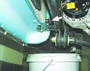 Как слить тосол с ВАЗ-2110: инструкция с видео