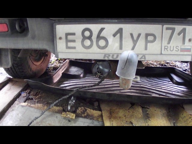 Пошаговая установка фаркопа на Ниву Шевроле своими руками: видеоинструкция