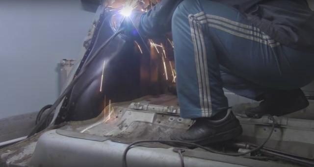 Ремонт днища ВАЗ 2110 своими руками: видеоинструкция