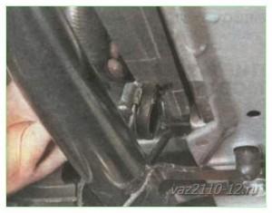 Как снять радиатор охлаждения ВАЗ-2110: инструкция с видео