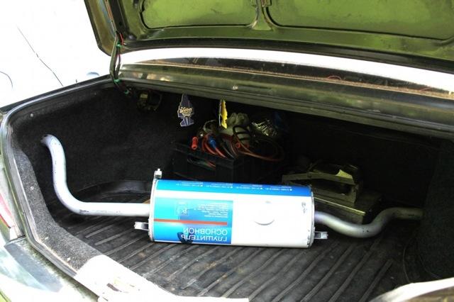 Выхлопная система ВАЗ 2115 инжектор: схема