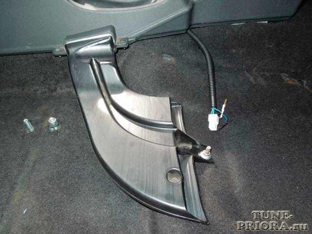 Подогрев сидений Лада Приора: причины неисправности, схема