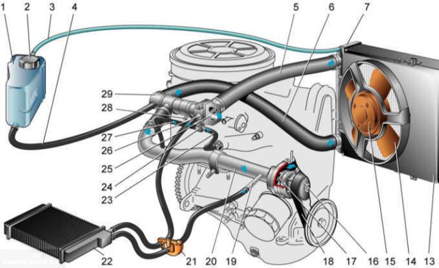 Дополнительная помпа ВАЗ-2115: как установить и подключить