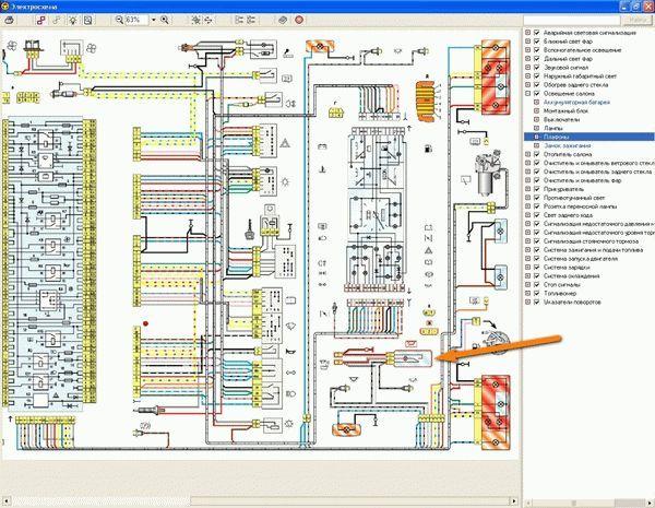 Подкапотная проводка ВАЗ-2109 (инжектор, карбюратор): схема