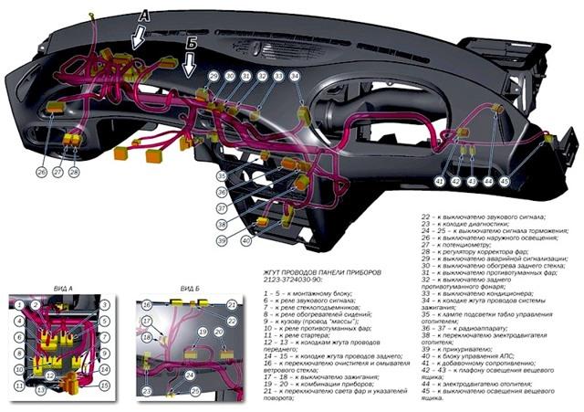 Устройство тормозной системы Шевроле Нива и ее схема