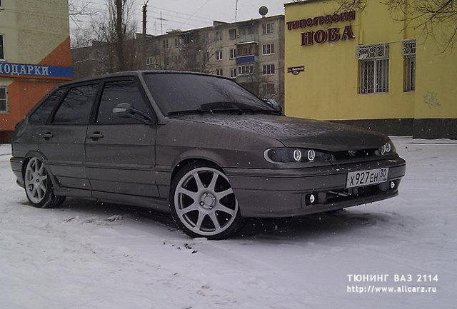 Тюнинг салона ВАЗ 2114 с фото и видео