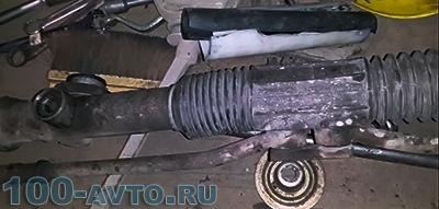 Ремонт рулевой рейки ВАЗ-2109 своими руками: видеоинструкция