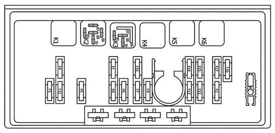 Где находится реле дворников ВАЗ-2107: схема, описание