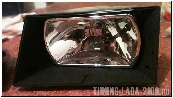 Тюнинг фар ВАЗ 2109 своими руками: пошаговая инструкция