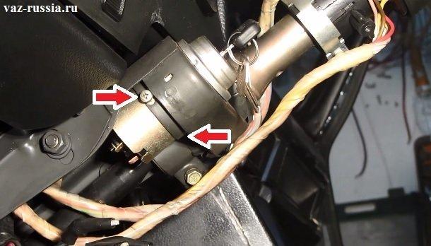 Замена замка зажигания на ВАЗ-2107 своими руками: пошаговая видеоинструкция
