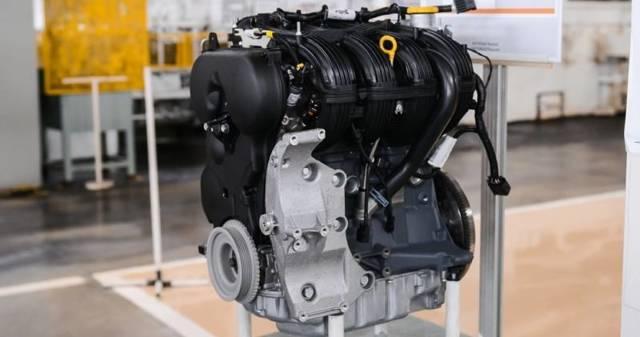Какой двигатель стоит на Лада Веста?