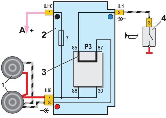 Не работает сигнал на ВАЗ-2110: причины, что делать?