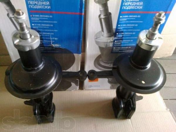 Какие стойки лучше поставить на ВАЗ 2110: масляные или газомаслянные?