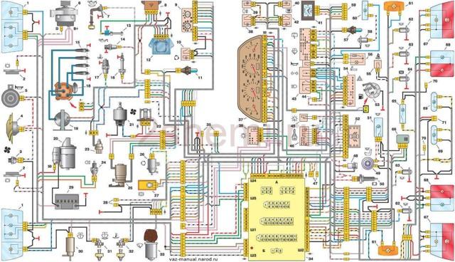 Датчик уровня масла ВАЗ-2110 на 8 и 16 клапанов: расположение, схема, предназначение