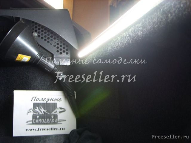 Подсветка багажника ВАЗ 2114 своими руками: как сделать, видеоинструкция