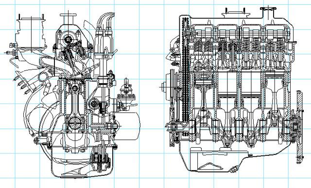 Технические характеристика двигателя ВАЗ-2103 (инжектор, карбюратор): параметры