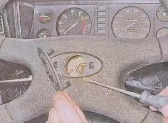 Как снять руль на ВАЗ-2107 (инжектор, карбюратор): видеоинструкция