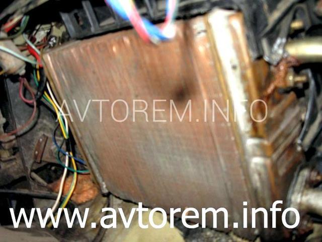 Плохо греет печка ВАЗ-2106: причины, ремонт