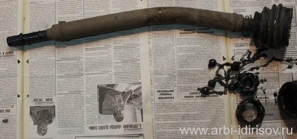 Замена ШРУСа на Ладу Приора своими руками: видеоинструкция