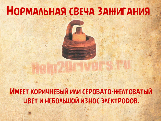 Черные свечи зажигания ВАЗ-2106: причина, ремонт