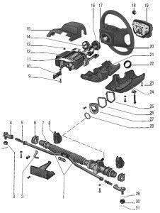 Электроусилитель руля Лада Приора: неисправности и способы устранения