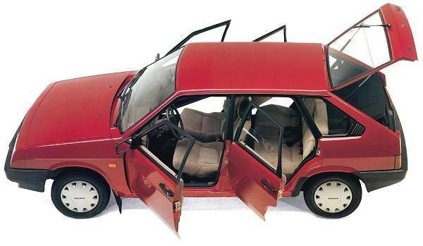 Объем багажника ВАЗ-2109 в литрах и сантиметрах: характеристики