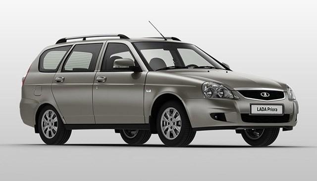 Объем багажника Лада Приора универсал в литрах: технические характеристики